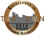 Talk of the town 2012 award