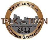 Talk of the town 2013 award