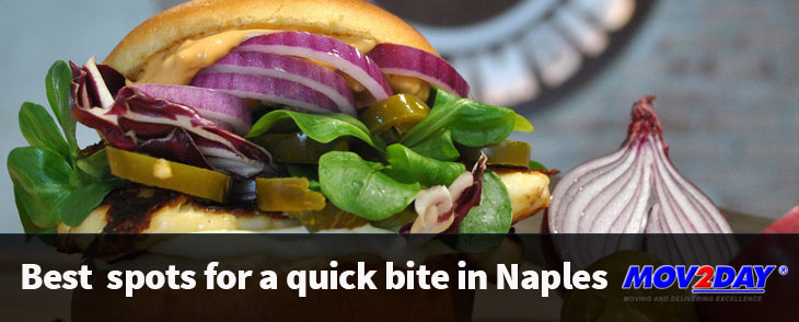 Best Places for a quick bite to eat in Naples from Moving Experts at Mov2day