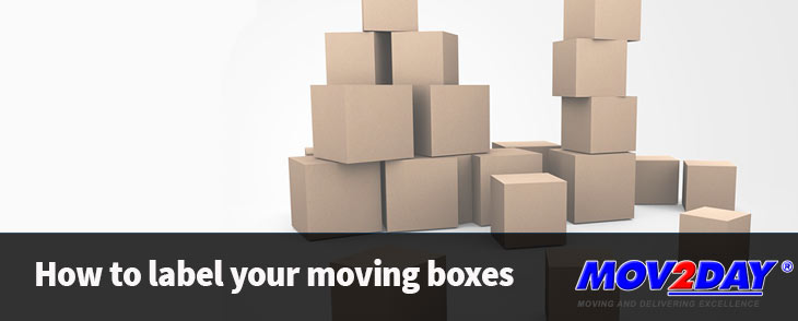 How to label your moving boxes | Mov2Day Blog