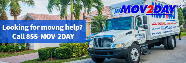 Looking for moving help in Southwest Florida? Call Mov2Day