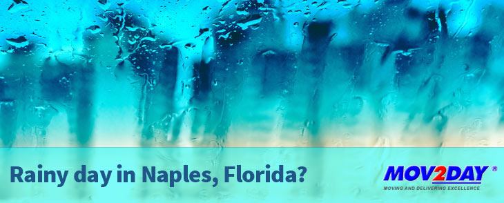 Rainy day in Naples, Florida? Our list of what to on rainy days will keep you busy | Mov2Day Naples Movers
